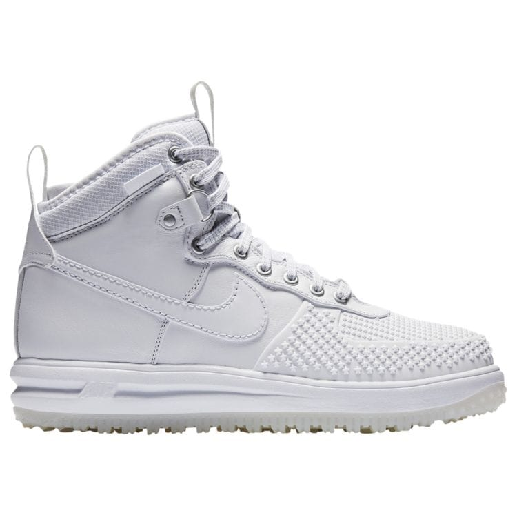 나이키 남자 스니커즈 부츠 하이탑 Nike Lunar Force 1 Duckboots - Men's - Casual - Shoes - White/White