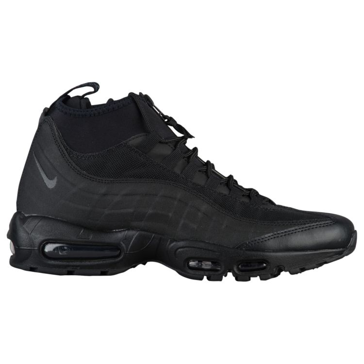 나이키 남자 스니커즈 부츠 하이탑 Nike Air Max 95 Sneakerboots - Men's - Casual - Shoes - Black/Black