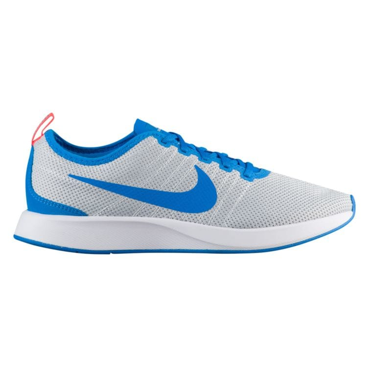 나이키 남자 스니커즈 런닝화 Nike Dualtone Racer - Men's - Running - Shoes - White/Light Medium Blue/Sail/Total Orange