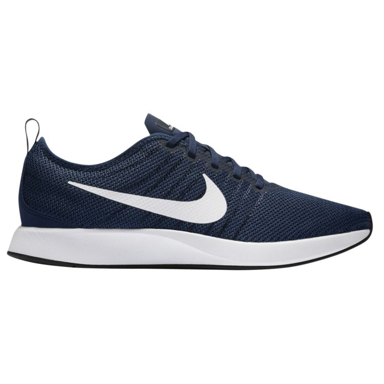 나이키 남자 스니커즈 런닝화 Nike Dualtone Racer - Men's - Running - Shoes - Midnight Navy/Obsidian/Coastal Blue