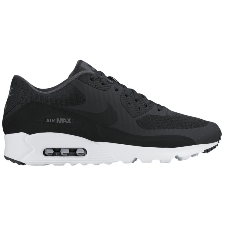 나이키 남자 스니커즈 런닝화 Nike Air Max 90 Ultra - Men's - Running - Shoes - Black/Dark Grey/White/Black