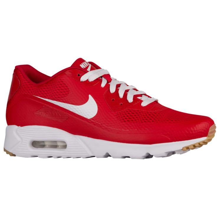 나이키 남자 스니커즈 런닝화 Nike Air Max 90 Ultra - Men's - Running - Shoes - University Red/White/University Red