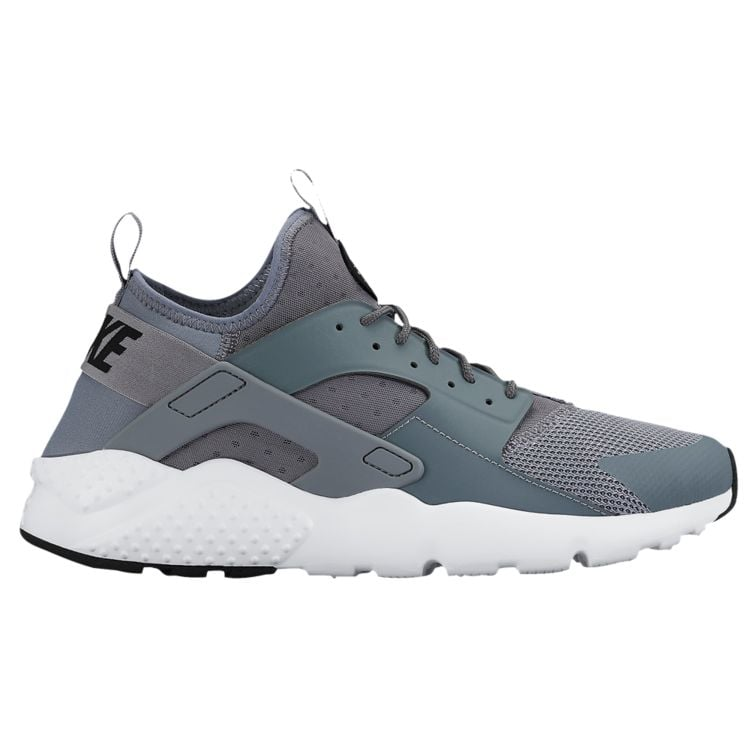 나이키 남자 스니커즈 런닝화 Nike Air Huarache Run Ultra - Men's - Running - Shoes - Cool Grey/White/Black