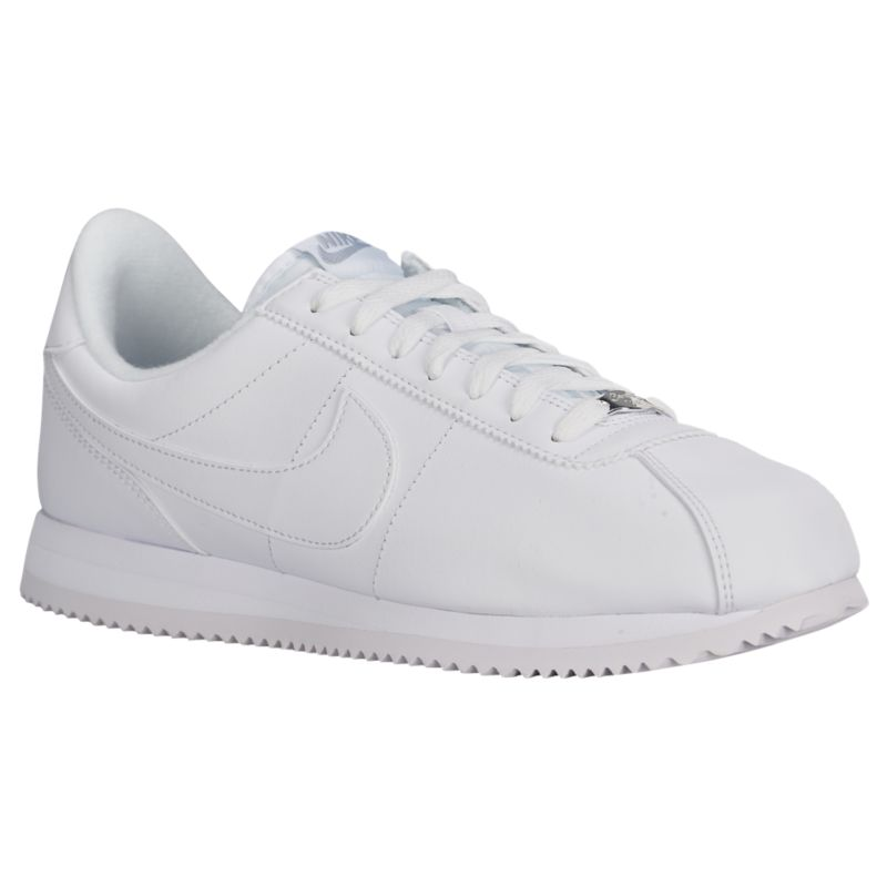 나이키 남자 캐주얼 스니커즈 런닝화 Nike Cortez - Men's - Running - Shoes - White/Wolf Grey/Metallic Silver/White