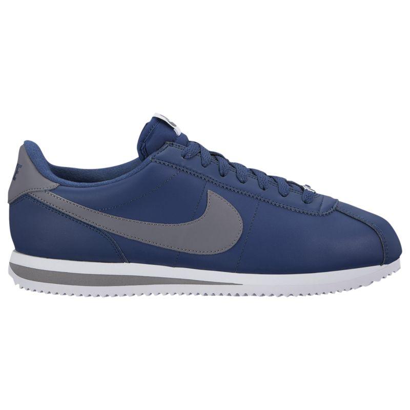 나이키 남자 캐주얼 스니커즈 런닝화 Nike Cortez - Men's - Running - Shoes - Navy/Gunsmoke/White