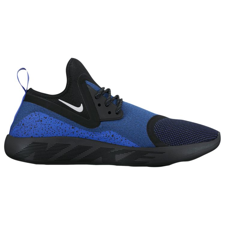 나이키 남자 스니커즈 런닝화 Nike Lunarcharge - Men's - Running - Shoes - Paramount Blue/White/Black/Volt