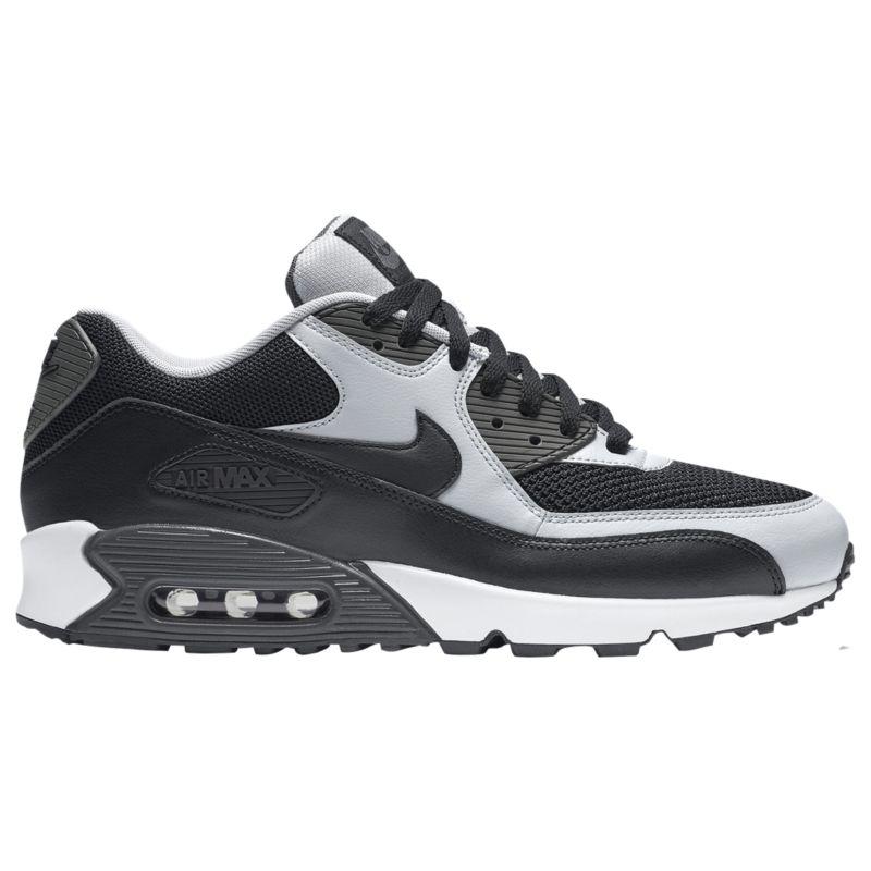 나이키 남자 캐주얼 스니커즈 런닝화 Nike Air Max 90 - Men's - Running - Shoes - Black/Wolf Grey/Anthracite/Black