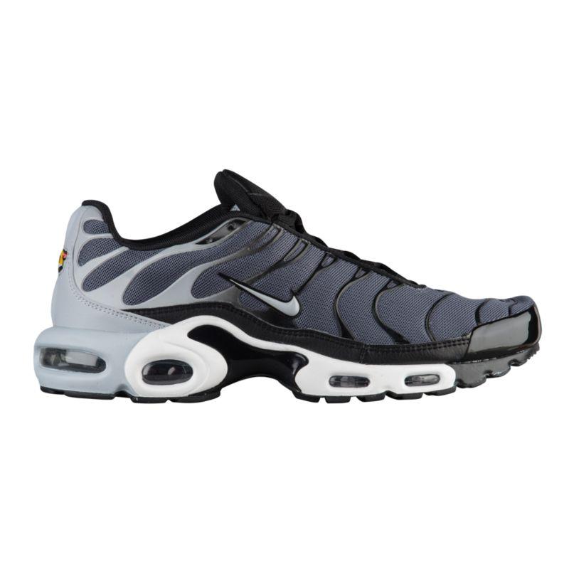 나이키 남자 캐주얼 스니커즈 런닝화 Nike Air Max Plus - Men's - Running - Shoes - Dark Grey/Wolf Grey/Black/White