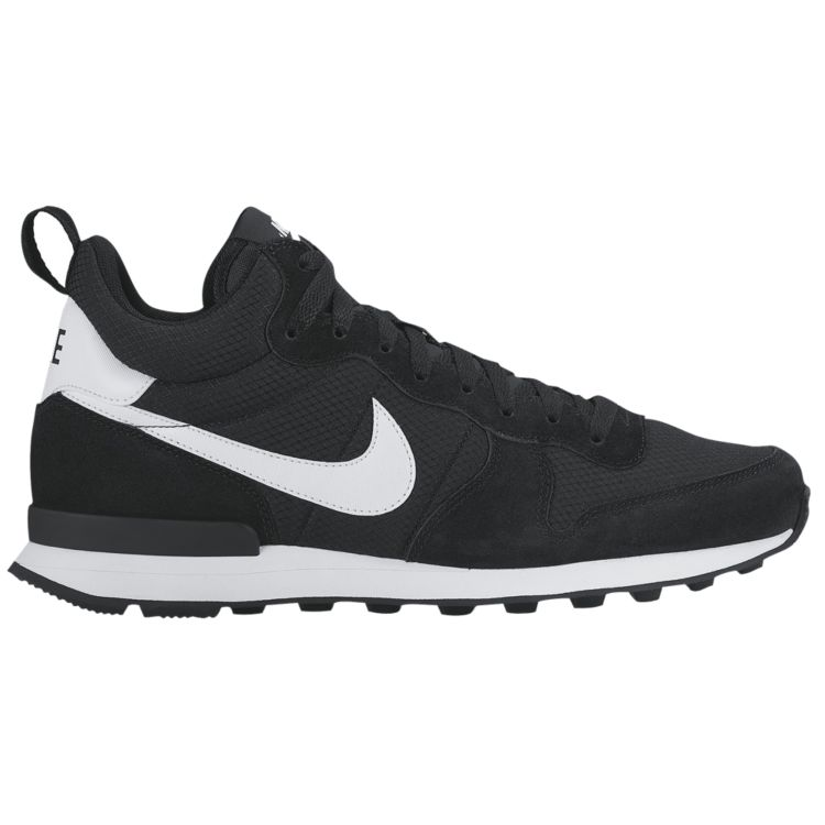 나이키 남자 스니커즈 런닝화 Nike Internationalist Mid - Men's - Running - Shoes - Black/White/Wolf Grey/White