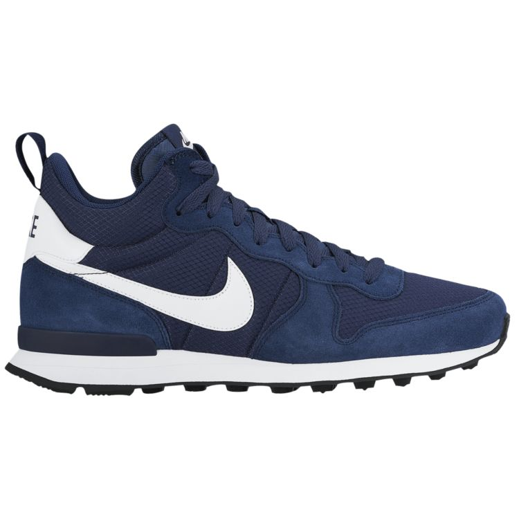 나이키 남자 스니커즈 런닝화 Nike Internationalist Mid - Men's - Running - Shoes - Midnight Navy/White/Game Royal/White