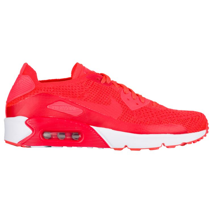 나이키 남자 스니커즈 런닝화 Nike Air Max 90 Ultra 2.0 Flyknit - Men's - Running - Shoes - Bright Crimson/Bright Crimson