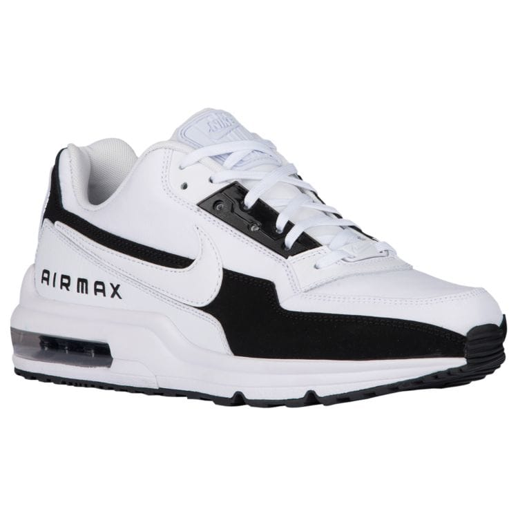 나이키 남자 스니커즈 런닝화 Nike Air Max LTD - Men's - Running - Shoes - White/Black/White