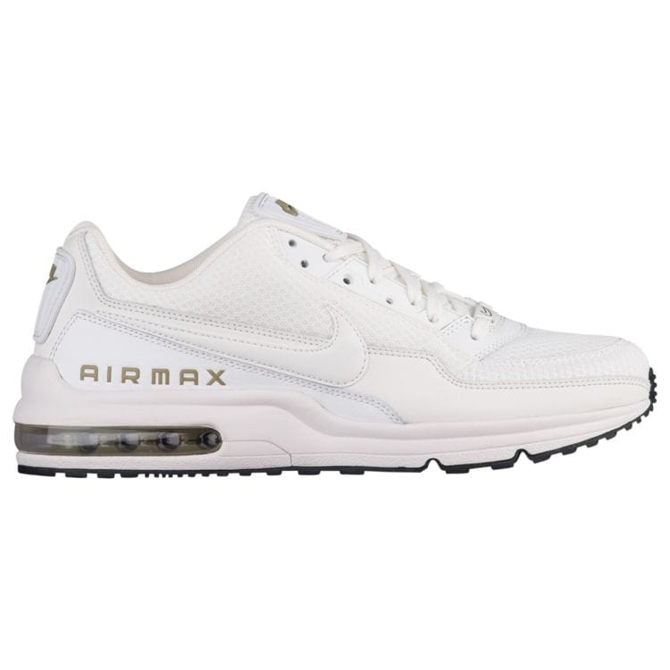 나이키 남자 스니커즈 런닝화 Nike Air Max LTD - Men's - Running - Shoes - Summit White/Summit White/Trooper/Black