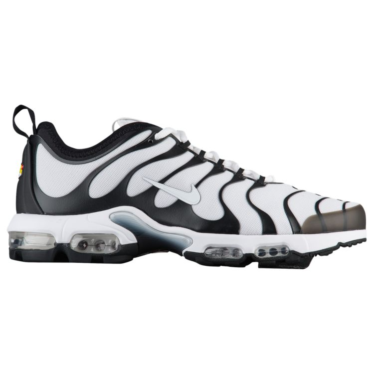 나이키 남자 스니커즈 런닝화 Nike Air Max Plus TN Ultra - Men's - Running - Shoes - White/White/Black/Bright Cactus