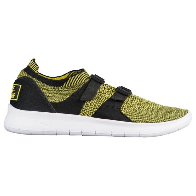 나이키 남자 스니커즈 런닝화 Nike Air Sockracer Flyknit - Men's - Running - Shoes - Yellow Strike/Yellow Strike/Black