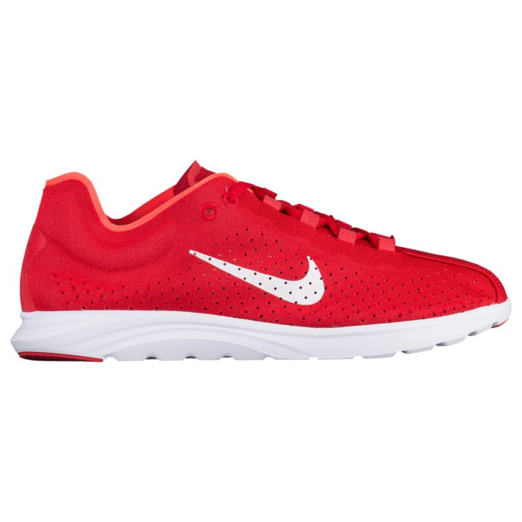 나이키 남자 스니커즈 런닝화 Nike Mayfly Lite BR - Men's - Running - Shoes - University Red/Pure Platinum/White